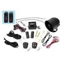 Car alarm with External Ultrasonic sensor (2 relays on Main unit PCB)