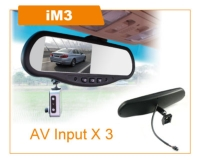 i Mirror for Driving Recorder  (AV Input X 3)