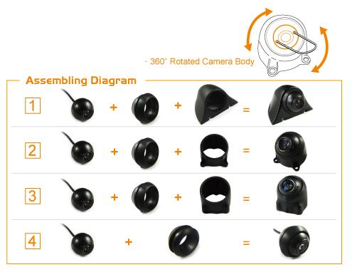 Universal Mini Ball Camera