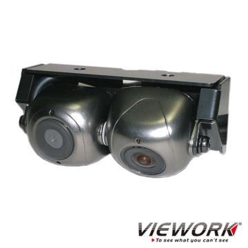 Twin CCD Rear View Camera - 180+60 Degrees