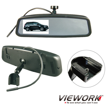 "HONDA Professional Rear View Mirror with 4.3""TFT LCD Monitor"
