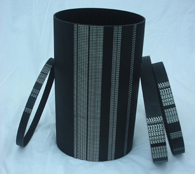 Round-tooth Timing Belts