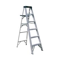 Aluminum Single Sided Step Ladder (Loading Capacity: 250lbs / 225lbs)