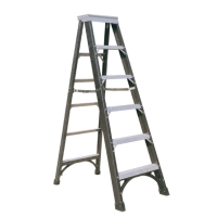 Fiberglass Single Sided Step Ladder (Loading Capacity: 375lbs)