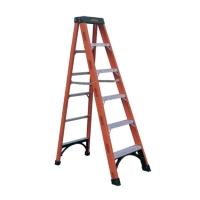 Fiberglass Single Sided Step Ladder (Loading Capacity: 300lbs)
