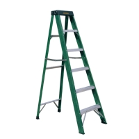 Fiberglass Single Sided Step Ladder (Loading Capacity: 225lbs)