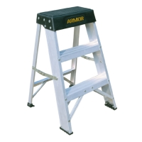 Aluminum Step Stool (Loading Capacity: 300lbs)