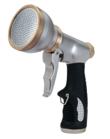 Shower Front Pull Metal Trigger Nozzle