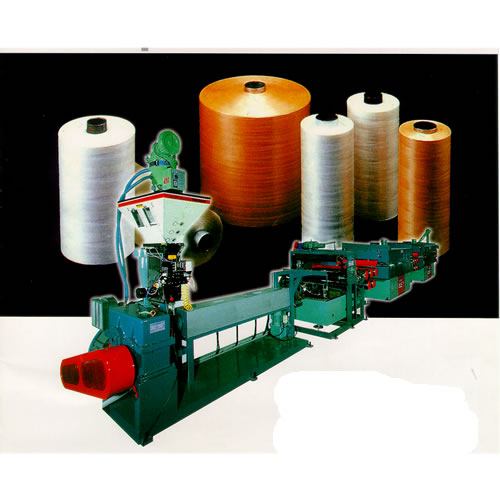 High Speed PP/HDPE Flat Yarn Making Machines