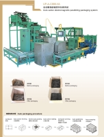 Auto carton electromagnetic paralleling packaging machine