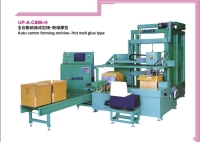 Auto carton forming machine