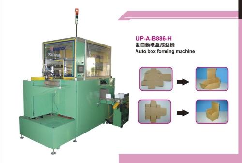 Auto box forming machine