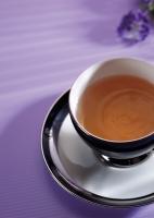 Lavender-flavored Green Tea