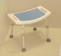 Guiding Mat Shower Bench