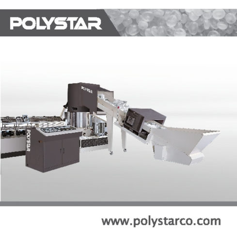 PE PP Waste Plastic Recycling Machine
