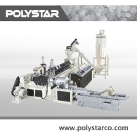 2 Stage Granules Recycling Machine