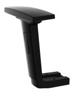 2D arm pad + Adjusttable arm rest