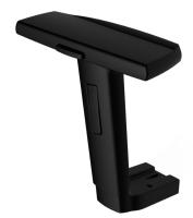 3D arm pad + adjustable arm rest