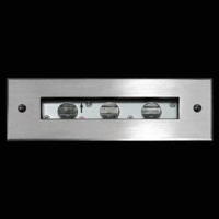 Recessed linear inground & wall washer light