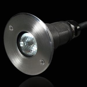 小型高功率LED嵌入式水底燈