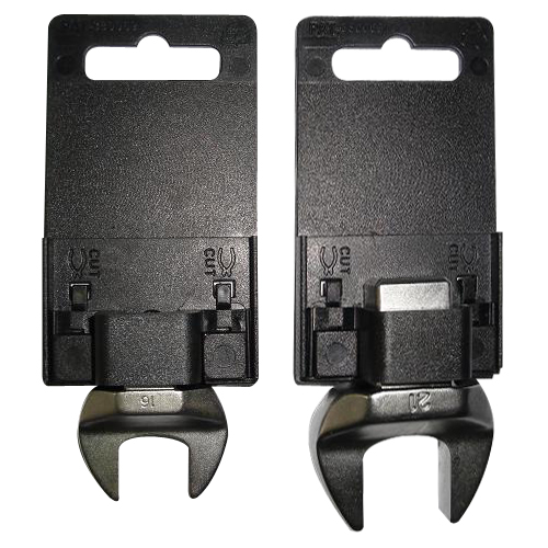 Combination wrench hang cards