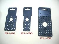 Perforated hang card