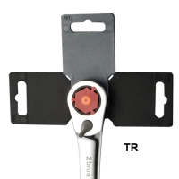 Rotary anti-theft H-handle hang card / Wrench hang card