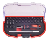 32pcs Ratchet Screwdriver And Precision Bit Set