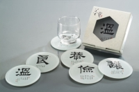 Cens.com Glass Coaster - TREASURE MING FONE GLASS CO., LTD.