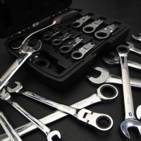 Box End Ratchet Wrench