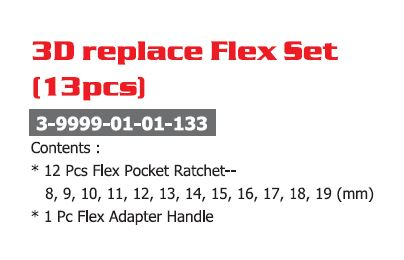 3D Replace Wrench Set