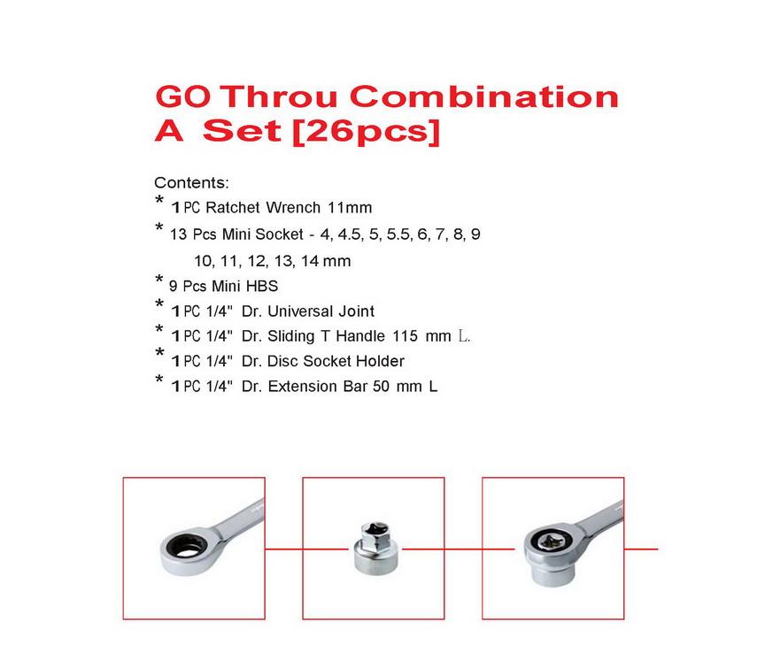 GP Throu Combination (26pcs)