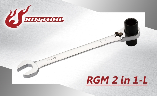 2 in 1 Reversible Ratchet Wrenches