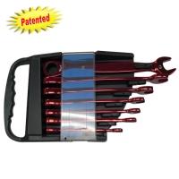 7pcs Ratchet Wrenches W/LEDs