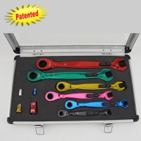Ratchet wrenches w/LEDs Set / Ratchet box wrenches w/LEDs Set