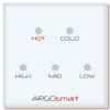 Wall Panel Controller for Heating system (Simple Remote Lighting Control Series)