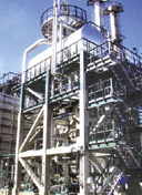 Waste-heat / waste liquid boiler