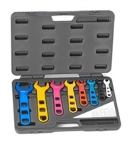 8PCS ALUMINUM FITTING WRENCHES