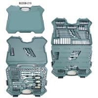 Cens.com 215PCS 1/4+3/8+1/2 DR. Socket Set A-TINA TOOLS COMPANY LTD.