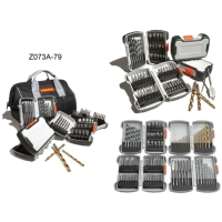79PCS鑽頭工具皮包組