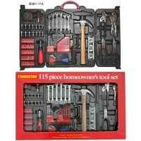 115PC Homeowner`s Tool Set
