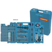 252 PC Drill And Screwdriver Bit Set Includes Hand Tools