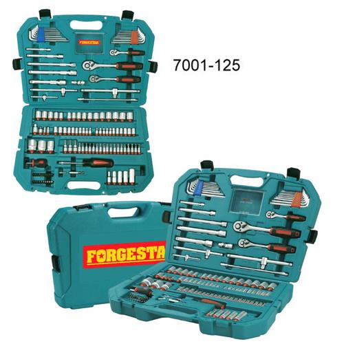 125PCS套筒工具組