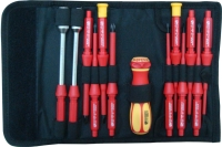 Cens.com 13 Pcs 1000v Insulated Interchaneable Screwdriver Set WORTHTEK  CO., LTD.