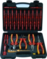 30 Pcs 1000v Insulated Interchangeable Screwdriver W/Pliers Set