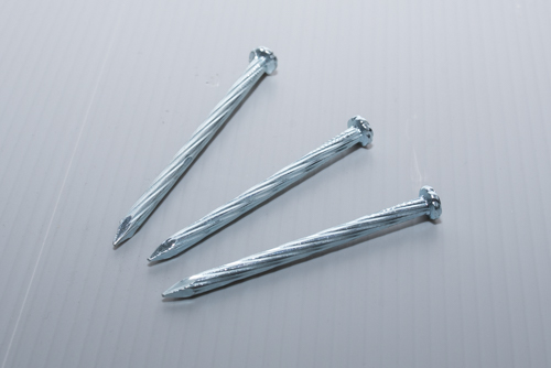 Straight Grooved Steel Nail,