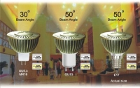 LED Flood - L300M6-MR16-GU5.3 / GU10 / E17