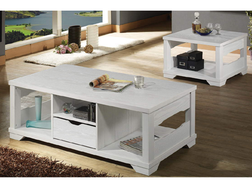 Large end-table + Small end-table