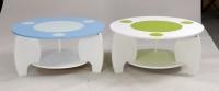 圆型玻璃桌