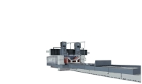 super twin-head precision double column slideway &surface grinder